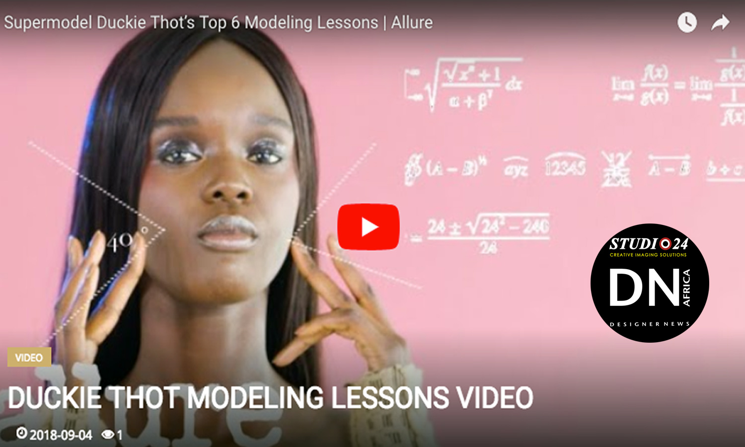 AFRICAN FASHION STYLE MAGAZINE - Supermodel-Duckie-Thot's-Top-6-Modeling-Lessons-Allure - Media Partner DN MAG, DN AFRICA -STUDIO 24 NIGERIA - STUDIO 24 INTERNATIONAL