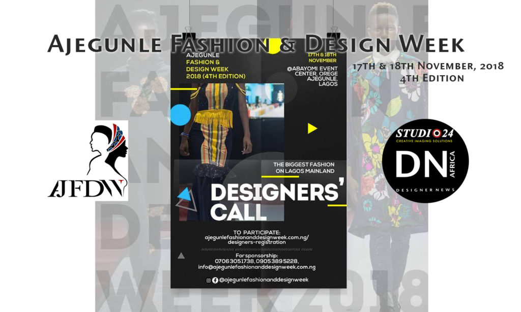 Ajegunle Fashiion & Design Week 2018