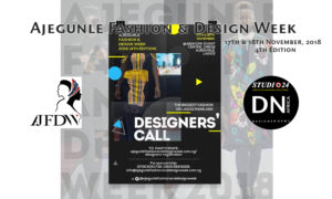 Ajegunle Fashiion & Design Week 2018