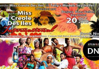 AFRICAN FASHION STYLE MAGAZINE - Miss Creole International Beauty Pageant by Tellymodellingagency Telly - Seychelles 2018 - Media Partner DN MAG, DN AFRICA-STUDIO 24 NIGERIA - STUDIO 24 INTERNATIONAL