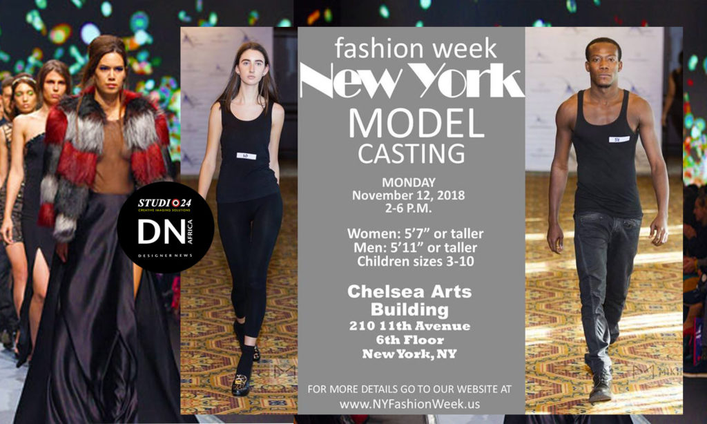 NEW YORK FASHION WEEK CASTING CALL