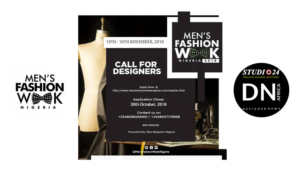 Mens Fashion Week Nigeria  Designers Call