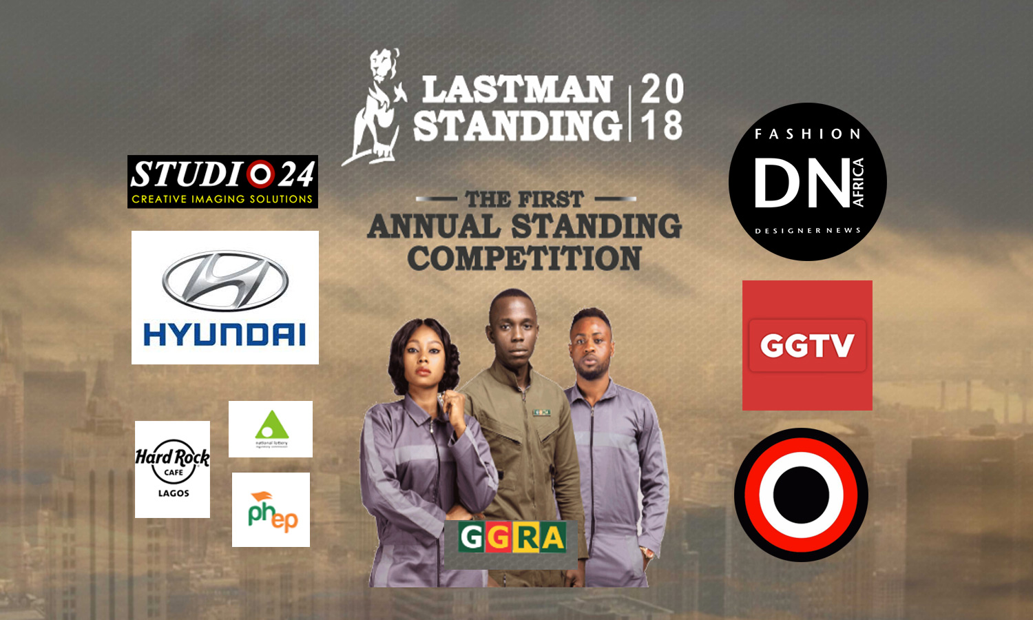 AFRICAN FASHION MAGAZINE - LAST MAN STANDING BY GGRA FIRST EDITION - HARD ROCK CAFE LAGOS NIGERIA - Media Partner DN MAG, DN AFRICA -STUDIO 24 NIGERIA - STUDIO 24 INTERNATIONAL