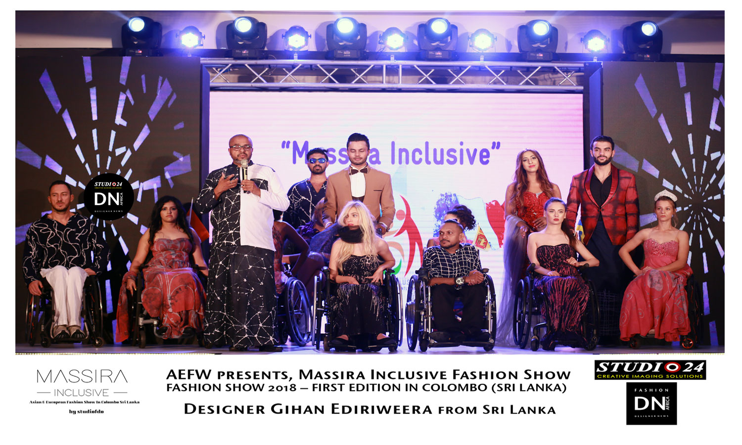AAFRICAN FASHION STYLE MAGAZINE -MASSIRA Inclusive Colombo Sri Lanka -MASSIRA-Gihan-Ediriweera- - President Fernando Rex - Organization of event: Nawel Benzaouia - Media Partner DN MAG, DN AFRICA -STUDIO 24 NIGERIA - STUDIO 24 INTERNATIONAL