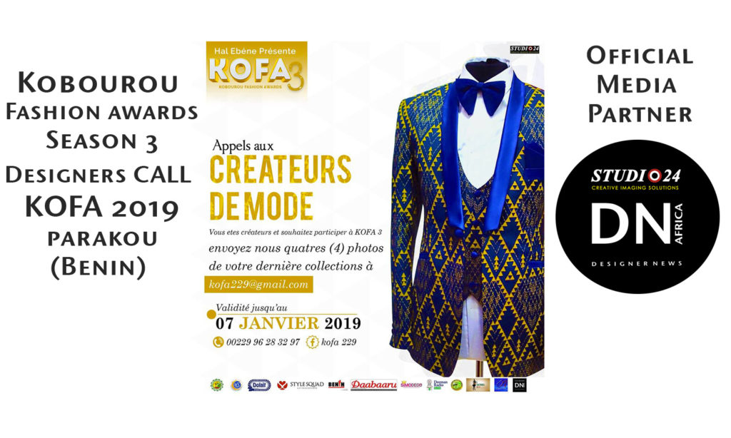 Kobourou Fashion awards KOFA Season 3