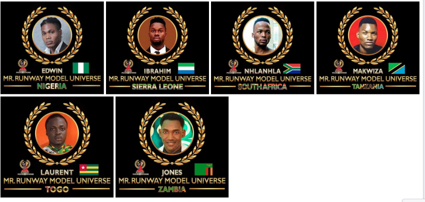 AFRICAN FASHION STYLE MAGAZINE - MR. & MS. RUNWAY MODEL UNIVERSE 2019 - Virro Production International the producer Global Beauties of Canada. - Media Partner DN AFRICA -STUDIO 24 NIGERIA - STUDIO 24 INTERNATIONAL
