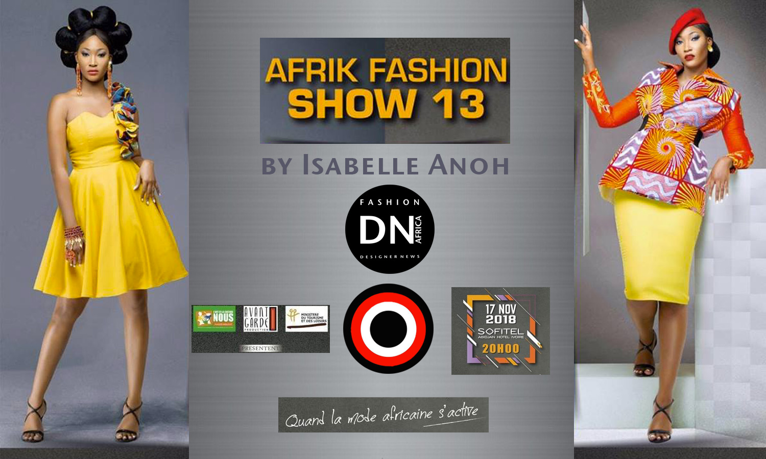AFRICAN FASHION STYLE MAGAZINE - AFRIK FASHION SHOW 13 - Model Morgan Elkana - ORGANIZER ISABELLE ANOH - ABIDJAN IVORY COAST - Official Media Partner DN AFRICA -STUDIO 24 NIGERIA - STUDIO 24 INTERNATIONAL - Ifeanyi Christopher Oputa MD AND CEO OF COLVI LIMITED AND STUDIO 24