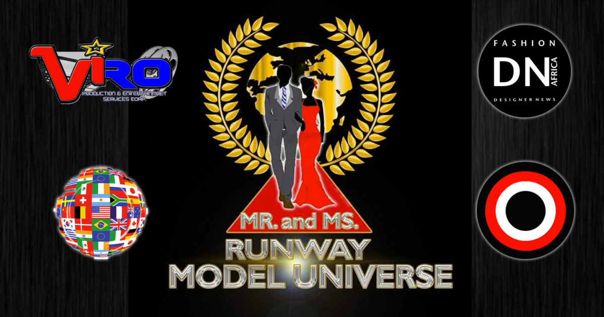 AFRICAN FASHION STYLE MAGAZINE - MR. & MS. RUNWAY MODEL UNIVERSE 2019 - Viro Production International the producer Global Beauties of Canada. - Location Philippines -Contestant Saah Nibata from TOGO - Media Partner DN AFRICA -STUDIO 24 NIGERIA - STUDIO 24 INTERNATIONAL