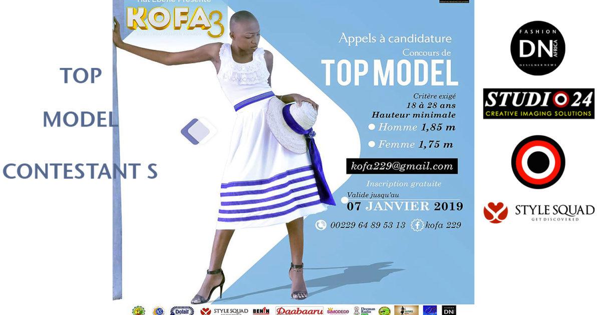 AFRICAN FASHION STYLE MAGAZINE - KOFA-3-TOP-MODEL-CONTESTANTS-2019-PARAKOU-BENIN-ORGANIZER HAL EBENE- Official Media Partner DN AFRICA -STUDIO 24 NIGERIA - STUDIO 24 INTERNATIONAL - Ifeanyi Christopher Oputa MD AND CEO OF COLVI LIMITED AND STUDIO 24