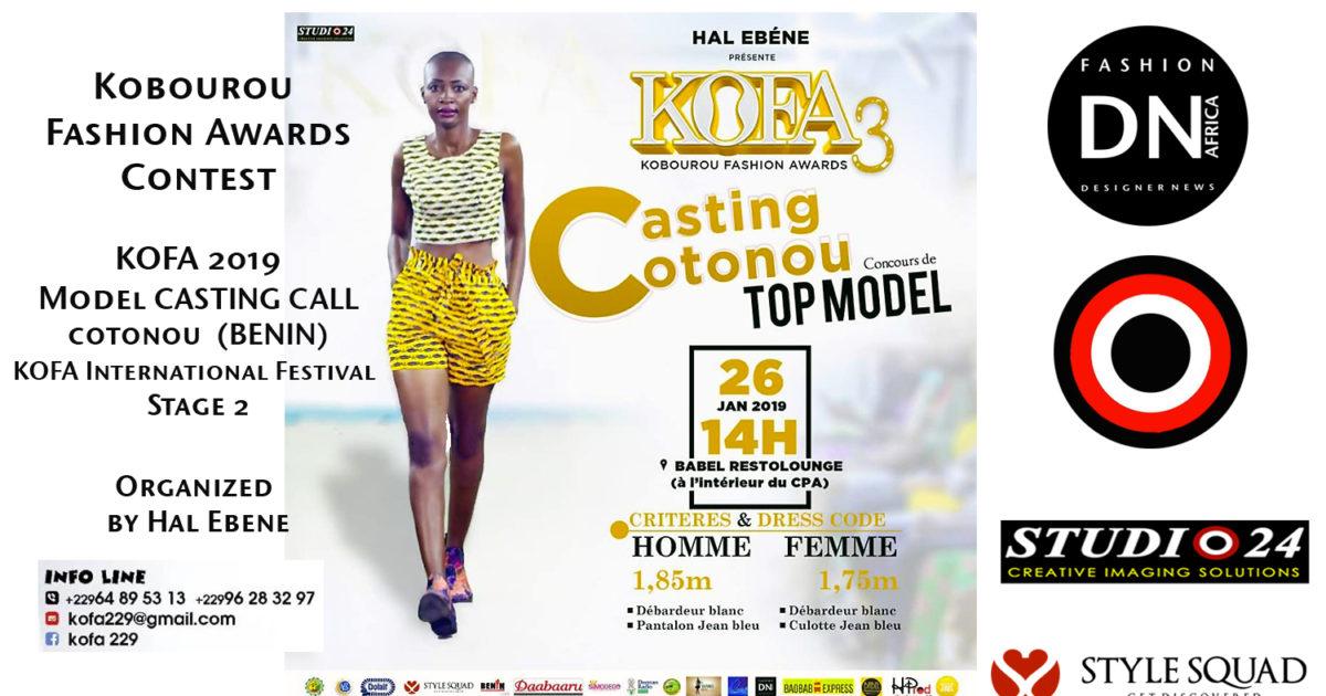 AFRICAN FASHION STYLE MAGAZINE - KOFA-Season 3-MODEL-CASTING-CALL-2019- Stage 2 - Cotonou-BENIN-ORGANIZER HAL EBENE- Official Media Partner DN AFRICA -STUDIO 24 NIGERIA - STUDIO 24 INTERNATIONAL - Ifeanyi Christopher Oputa MD AND CEO OF COLVI LIMITED AND STUDIO 24