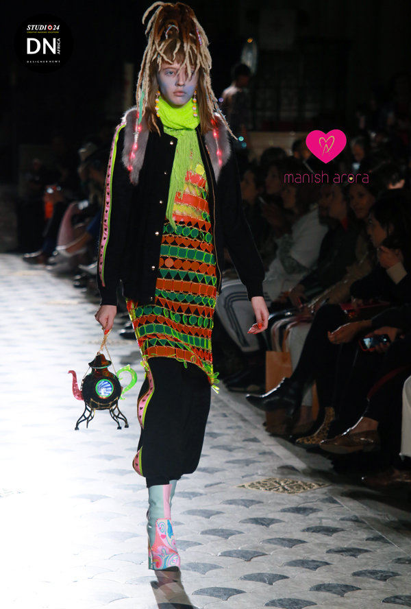 AFRICAN FASHION STYLE MAGAZINE -  MANISH ARORA FW 2019  PFW Paris Women 19 - Pr Totem Fashion -  Official Media Partner DN AFRICA - STUDIO 24 NIGERIA - STUDIO 24 INTERNATIONAL - Ifeanyi Christopher Oputa MD AND CEO OF COLVI LIMITED AND STUDIO 24 - CHEVEUX CHERIE and Cheveux Cherie studio STUDIO BY MARIEME DUBOZ- Fashion Editor Edith DALIGOU