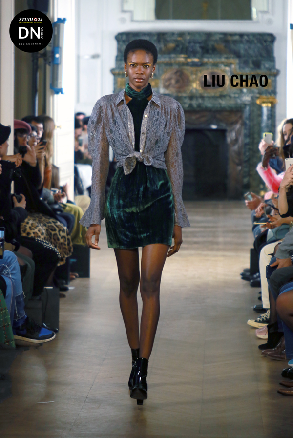 AFRICAN FASHION STYLE MAGAZINE - LIU SHAO FW 2019 Show - ESPRIT COUTURE - Location Hotel Salomon De Rothschild - PR Totem Fashion by Elisa Palmer - Official Media Partner DN AFRICA - STUDIO 24 NIGERIA - STUDIO 24 INTERNATIONAL - Ifeanyi Christopher Oputa MD AND CEO OF COLVI LIMITED AND STUDIO 24 - CHEVEUX CHERIE and CHEVEUX CHERIE STUDIO BY MARIEME DUBOZ- Fashion Editor Edith DALIGOU