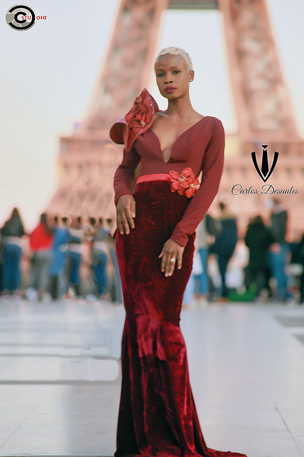 AFRICAN FASHION STYLE MAGAZINE - Designer Carlos DESAULES - Collection Capsule 2019 - Model Marieme DIEDHIOU - Official Media Partner DN AFRICA - STUDIO 24 NIGERIA - STUDIO 24 INTERNATIONAL - Ifeanyi Christopher Oputa MD AND CEO OF COLVI LIMITED AND STUDIO 24 - CHEVEUX CHERIE and Cheveux Cherie studio STUDIO BY MARIEME DUBOZ- Fashion Editor Edith DALIGOU