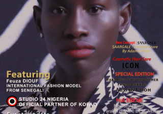 AFRICAN FASHION STYLE MAGAZINE - may 2019 COVER - number 97 -Feuza DIOUF International Model from Senegal - Official Media Partner DN AFRICA - STUDIO 24 NIGERIA - STUDIO 24 INTERNATIONAL - Ifeanyi Christopher Oputa MD AND CEO OF COLVI LIMITED AND STUDIO 24 - CHEVEUX CHERIE and CHEVEUX CHERIE STUDIO BY MARIEME DUBOZ- Fashion Editor Nahomie NOOR COULIBALY
