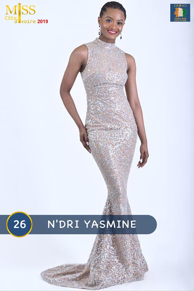 AFRICAN FASHION STYLE MAGAZINE - MISS CI 2019 - Miss N'DRI YASMINE - Contestant N° 26 : N'DRI YASMINE - MISS CI 8 Organize by Victor YABOBI - Location Sofitel Hotel Ivoire palais des Confgres - Official Media Partner DN AFRICA - STUDIO 24 NIGERIA - STUDIO 24 INTERNATIONAL - Ifeanyi Christopher Oputa MD AND CEO OF COLVI LIMITED AND STUDIO 24 - CHEVEUX CHERIE and CHEVEUX CHERIE STUDIO BY MARIEME DUBOZ- Fashion Editor Nahomie NOOR COULIBALY