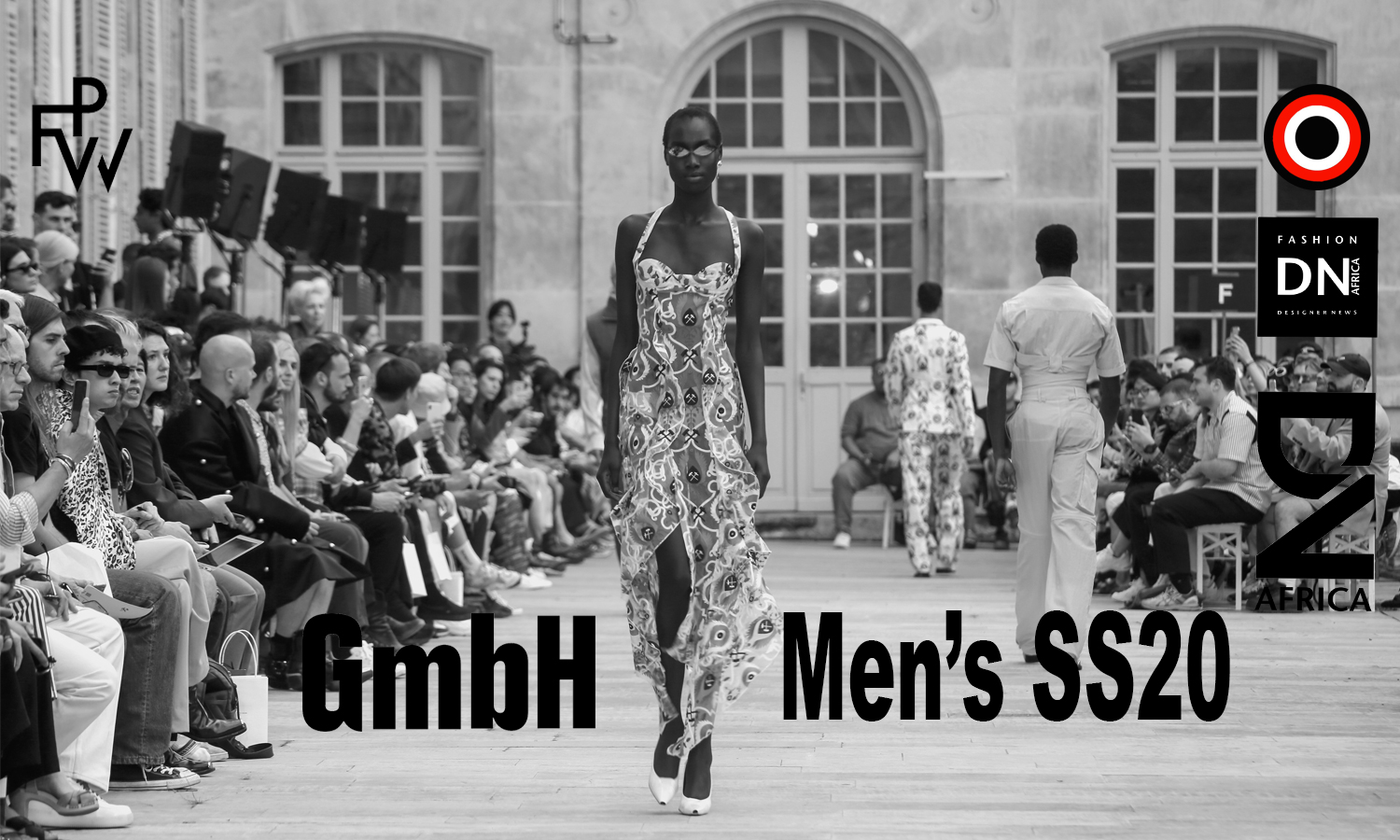 AFRICAN FASHION STYLE MAGAZINE – GmbH Show of Paris Fashion Week Men's SS20 - designers Serhat Isik and Benjamin Alexander Huseby- Model : NGATBEL Nyagatbel_ PR Robin Meason Founder and CEO of RITUAL PROJECTS - Photographer DAN NGU - Official Media Partner DN AFRICA - STUDIO 24 NIGERIA - STUDIO 24 INTERNATIONAL - Ifeanyi Christopher Oputa MD AND CEO OF COLVI LIMITED AND STUDIO 24 - CHEVEUX CHERIE and CHEVEUX CHERIE STUDIO BY MARIEME DUBOZ- Fashion Editor Nahomie NOOR COULIBALY