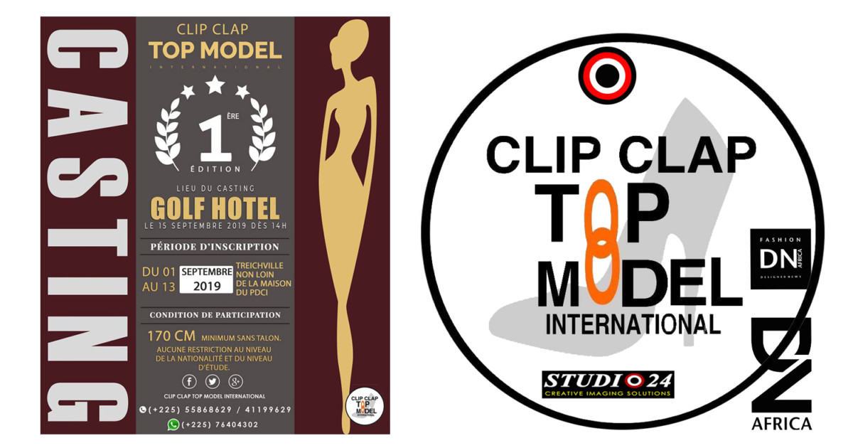 AFRICAN FASHION STYLE MAGAZINE -Clip Clap Top Model International 2019 First Edition - Organizer Victor YAPOBI - PR Indirâh Events and Communication - Photographer DAN NGU - Official Media Partner DN AFRICA - STUDIO 24 NIGERIA - STUDIO 24 INTERNATIONAL - Ifeanyi Christopher Oputa MD AND CEO OF COLVI LIMITED AND STUDIO 24 - CHEVEUX CHERIE and CHEVEUX CHERIE STUDIO BY MARIEME DUBOZ- Fashion Editor Nahomie NOOR COULIBALY