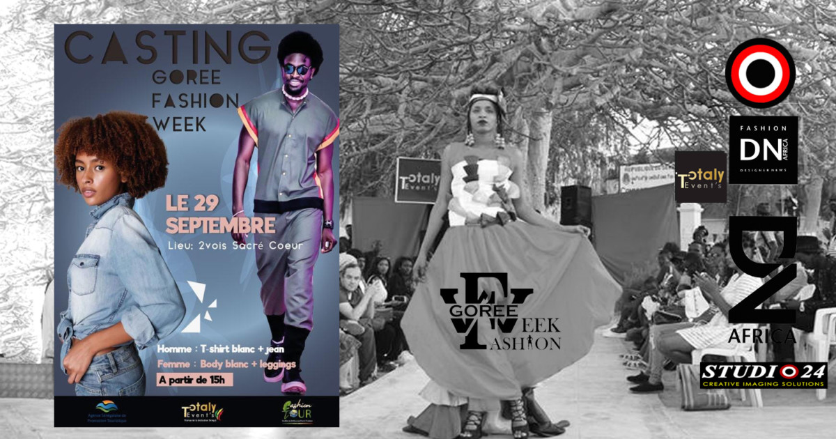AFRICAN FASHION STYLE MAGAZINE - GOREE-FASHION-WEEK-CASTING-CALL-2019 BY TOTALY EVENTS- PR Indirâh Events and Communication - Photographer DAN NGU - Official Media Partner DN AFRICA - STUDIO 24 NIGERIA - STUDIO 24 INTERNATIONAL - Ifeanyi Christopher Oputa MD AND CEO OF COLVI LIMITED AND STUDIO 24 - CHEVEUX CHERIE and CHEVEUX CHERIE STUDIO BY MARIEME DUBOZ- Fashion Editor Nahomie NOOR COULIBALY
