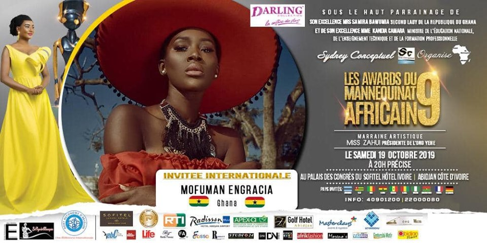 AFRICAN FASHION STYLE MAGAZINE - AMA 9 by Fatim SIDIME - LES-AWARDS-DU-MANNEQUINNAT-AFRICAIN-EDITION-9-2019 - Event organiser Sydney conceptuel - Special Guest Her excellence Ms. Samira Bawumi, Ghana's Vice President - Mofuman Ngracia from GHANA International Model - Photographer DAN NGU - Official Media Partner DN AFRICA - STUDIO 24 NIGERIA - STUDIO 24 INTERNATIONAL - Ifeanyi Christopher Oputa MD AND CEO OF COLVI LIMITED AND STUDIO 24 - CHEVEUX CHERIE and CHEVEUX CHERIE STUDIO BY MARIEME DUBOZ- Fashion Editor Nahomie NOOR COULIBALY