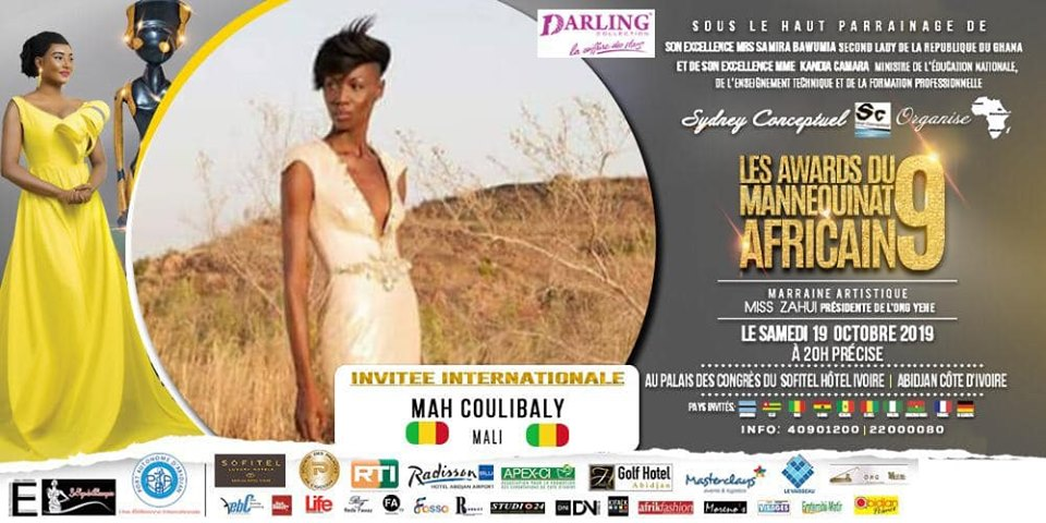 AFRICAN FASHION STYLE MAGAZINE - AMA 9 by Fatim SIDIME - LES-AWARDS-DU-MANNEQUINNAT-AFRICAIN-EDITION-9-2019 - Event organiser Sydney conceptuel - Special Guest Her excellence Ms. Samira Bawumi, Ghana's Vice President - Mah from Mali COULIBALY International Model - Photographer DAN NGU - Official Media Partner DN AFRICA - STUDIO 24 NIGERIA - STUDIO 24 INTERNATIONAL - Ifeanyi Christopher Oputa MD AND CEO OF COLVI LIMITED AND STUDIO 24 - CHEVEUX CHERIE and CHEVEUX CHERIE STUDIO BY MARIEME DUBOZ- Fashion Editor Nahomie NOOR COULIBALY