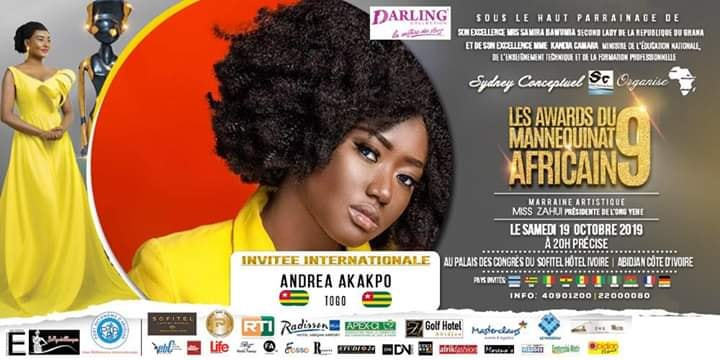 AFRICAN FASHION STYLE MAGAZINE - AMA 9 by Fatim SIDIME - LES-AWARDS-DU-MANNEQUINNAT-AFRICAIN-EDITION-9-2019 - Event organiser Sydney conceptuel - Special Guest Her excellence Ms. Samira Bawumi, Ghana's Vice President - ANDREA AKAKPO International Model - Photographer DAN NGU - Official Media Partner DN AFRICA - STUDIO 24 NIGERIA - STUDIO 24 INTERNATIONAL - Ifeanyi Christopher Oputa MD AND CEO OF COLVI LIMITED AND STUDIO 24 - CHEVEUX CHERIE and CHEVEUX CHERIE STUDIO BY MARIEME DUBOZ- Fashion Editor Nahomie NOOR COULIBALY