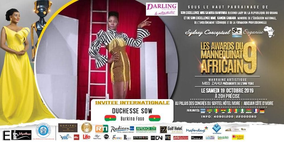 AFRICAN FASHION STYLE MAGAZINE - AMA 9 by Fatim SIDIME - LES-AWARDS-DU-MANNEQUINNAT-AFRICAIN-EDITION-9-2019 - Event organiser Sydney conceptuel - Special Guest Her excellence Ms. Samira Bawumi, Ghana's Vice President - Yacine SOW representing Burkina FASSAU International Model - Photographer DAN NGU - Official Media Partner DN AFRICA - STUDIO 24 NIGERIA - STUDIO 24 INTERNATIONAL - Ifeanyi Christopher Oputa MD AND CEO OF COLVI LIMITED AND STUDIO 24 - CHEVEUX CHERIE and CHEVEUX CHERIE STUDIO BY MARIEME DUBOZ- Fashion Editor Nahomie NOOR COULIBALY