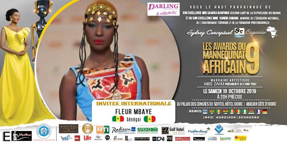 AFRICAN FASHION STYLE MAGAZINE - AMA 9 by Fatim SIDIME - LES-AWARDS-DU-MANNEQUINNAT-AFRICAIN-EDITION-9-2019 - Event organiser Sydney conceptuel - Special Guest Her excellence Ms. Samira Bawumi, Ghana's Vice President - Ama9 International International Guest Fleur Mbaye from Senegal - Photographer DAN NGU - Official Media Partner DN AFRICA - STUDIO 24 NIGERIA - STUDIO 24 INTERNATIONAL - Ifeanyi Christopher Oputa MD AND CEO OF COLVI LIMITED AND STUDIO 24 - CHEVEUX CHERIE and CHEVEUX CHERIE STUDIO BY MARIEME DUBOZ- Fashion Editor Nahomie NOOR COULIBALY