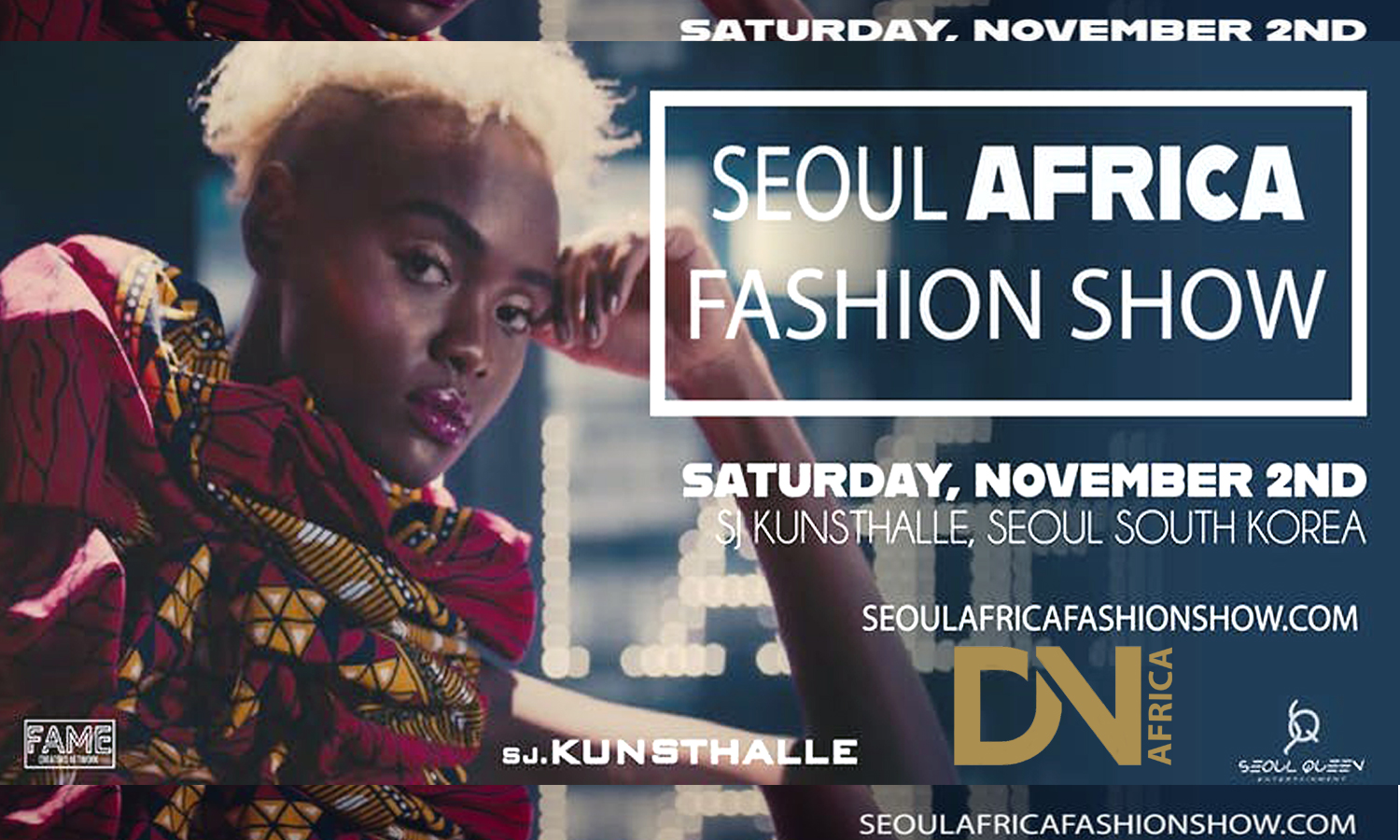 AFRICAN FASHION STYLE MAGAZINE - Fashion Magazine Cover - SEOUL AFRICA FASHION SHOW (SAFS) - PAPER FIG FOUNDATION _ Photographer DAN NGU - Media Partner DN AFRICA - STUDIO 24 NIGERIA - STUDIO 24 INTERNATIONAL - Ifeanyi Christopher Oputa MD AND CEO OF COLVI LIMITED AND STUDIO 24 - Nahomie NOOR COULIBALY
