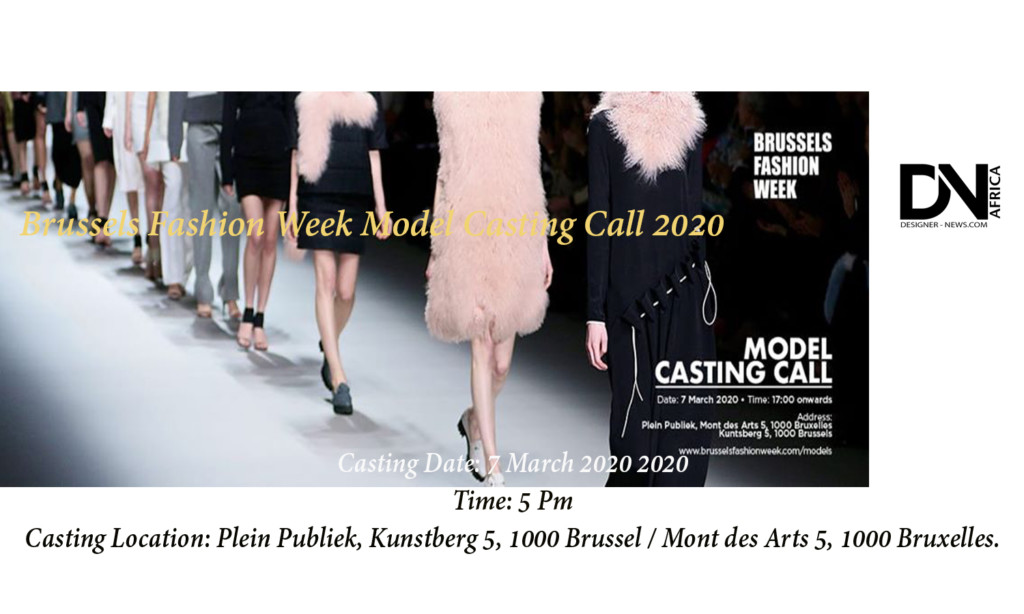 Brussels-Fashion-Week-Model-Casting-Call-2020