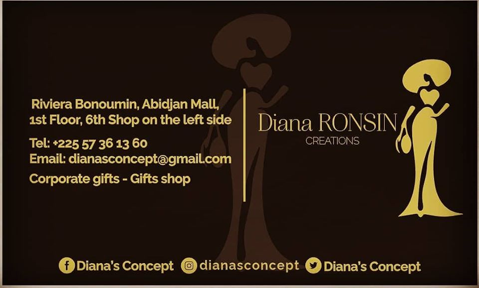 AFRICAN FASHION STYLE MAGAZINE - DIANA'S-CONCEPT-The-Concept-Store-by-Diana-RONSIN-Location-Abidjan-Mall - Photographer DAN NGU - Media Partner DN AFRICA - STUDIO 24 NIGERIA - STUDIO 24 INTERNATIONAL - Ifeanyi Christopher Oputa MD AND CEO OF COLVI LIMITED AND STUDIO 24 - CHEVEUX CHERIE and CHEVEUX CHERIE STUDIO BY MARIEME DUBOZ- Fashion Editor Nahomie NOOR COULIBALY