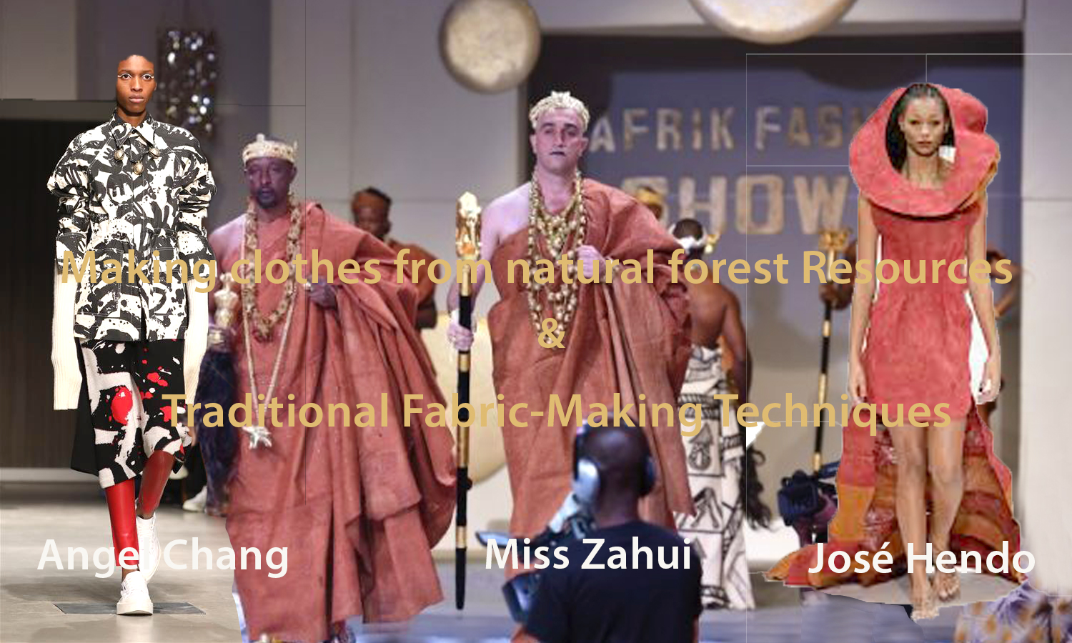AFRICAN FASHION STYLE MAGAZINE - Making clothes from natural forest resources & traditional fabric-making techniques -Angel Chang - Miss ZAHUI - Make Tree bark cloth with Abachi Tree - Jose-Hendo made Mutuba Desig - Photographer DAN NGU - Media Partner DN AFRICA - STUDIO 24 NIGERIA - STUDIO 24 INTERNATIONAL - Ifeanyi Christopher Oputa MD AND CEO OF COLVI LIMITED AND STUDIO 24 - CHEVEUX CHERIE and CHEVEUX CHERIE STUDIO BY MARIEME DUBOZ- Fashion Editor Nahomie NOOR COULIBALY