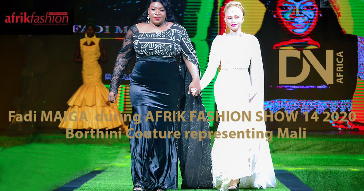 AFRICAN FASHION STYLE MAGAZINE - AFRIK FASHION SHOW 14 BY Isabelle Anoh & AVANT GARDE PRODUCTION -The-socio-professional-integration-of-the-girl - Designer Fadi Maiga from Mali - Location Palais des Congres - Sofitel IVOIRE ABIDJAN Ivory Coast - Photographer DAN NGU - Media Partner DN AFRICA - STUDIO 24 NIGERIA - STUDIO 24 INTERNATIONAL - Ifeanyi Christopher Oputa MD AND CEO OF COLVI LIMITED AND STUDIO 24 - Nahomie NOOR COULIBALY