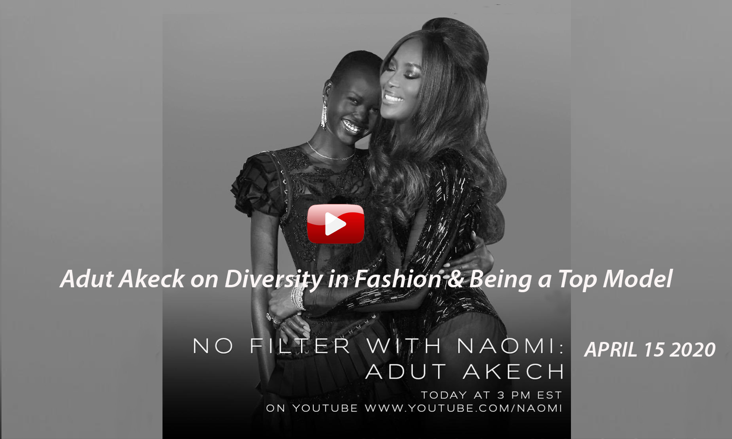 AFRICAN FASHION STYLE MAGAZINE - No-filter-with-Naomi-Interview-with-Adut-Akech - Photographer DAN NGU - Media Partner DN AFRICA - STUDIO 24 NIGERIA - STUDIO 24 INTERNATIONAL - Ifeanyi Christopher Oputa MD AND CEO OF COLVI LIMITED AND STUDIO 24 - Nahomie NOOR COULIBALY