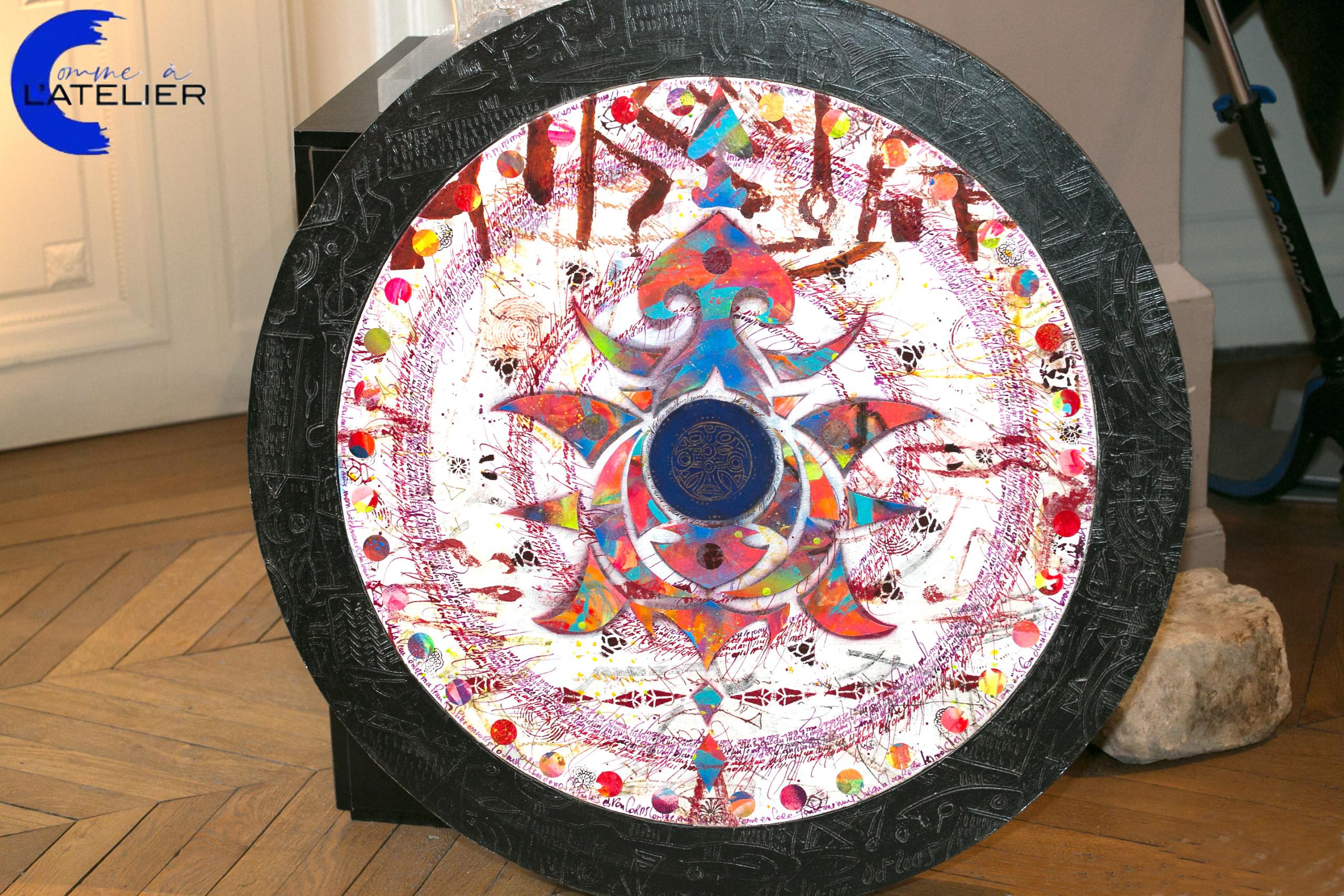 COMME A L'ATELIER by Clotilde-Wiacek - Luciano di Concetto, the Artist