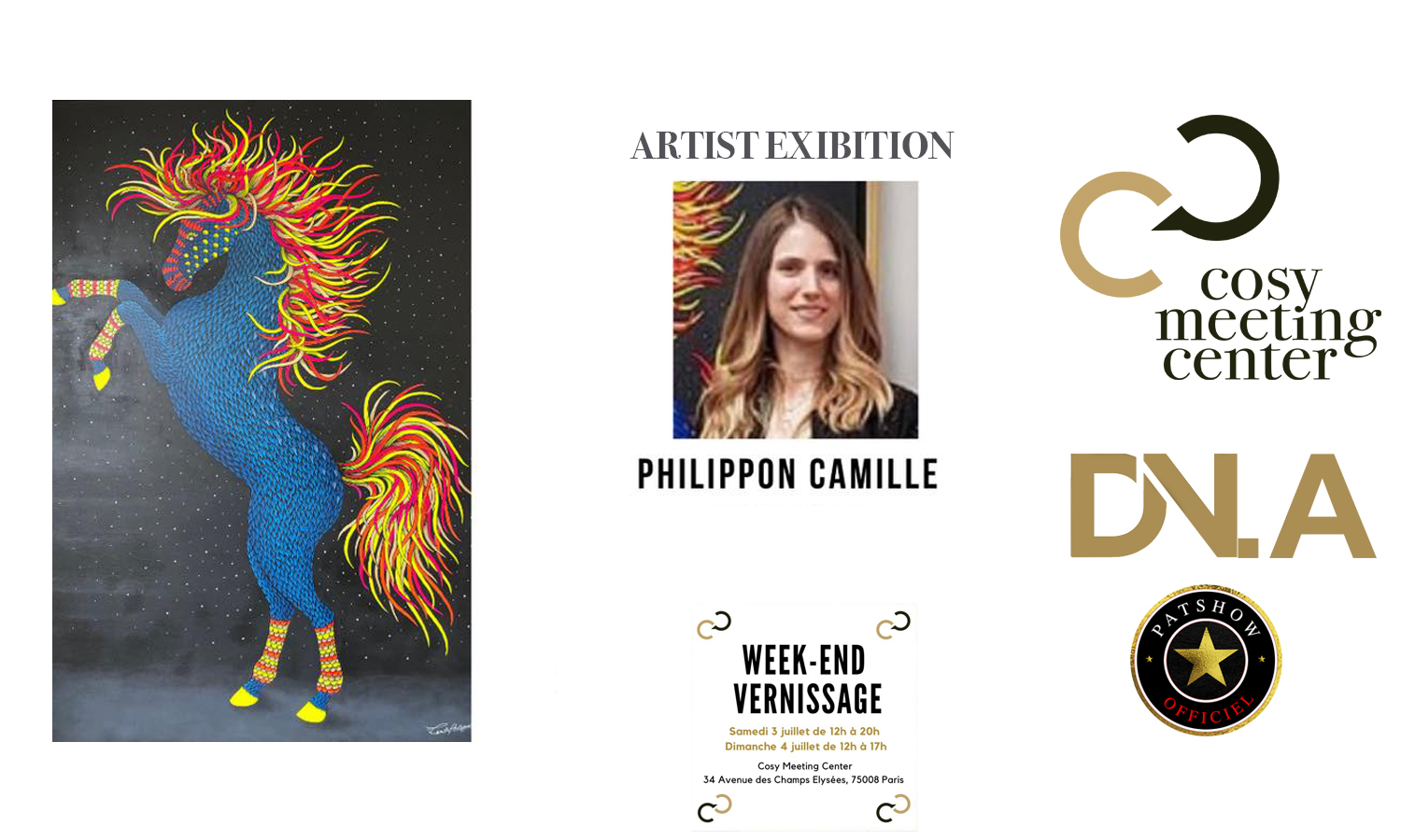 COSY MEETING CENTER Connection with all the arts – Sir Kenneth Johnson, President of the Europe Africa Committee - DN-AFRICA - DN-A - PATSHOW ACTIVITES OFFICIAL MEDIA PARTNER - Camille Philippon EXIBITION - Camille Philippon EXIBITION