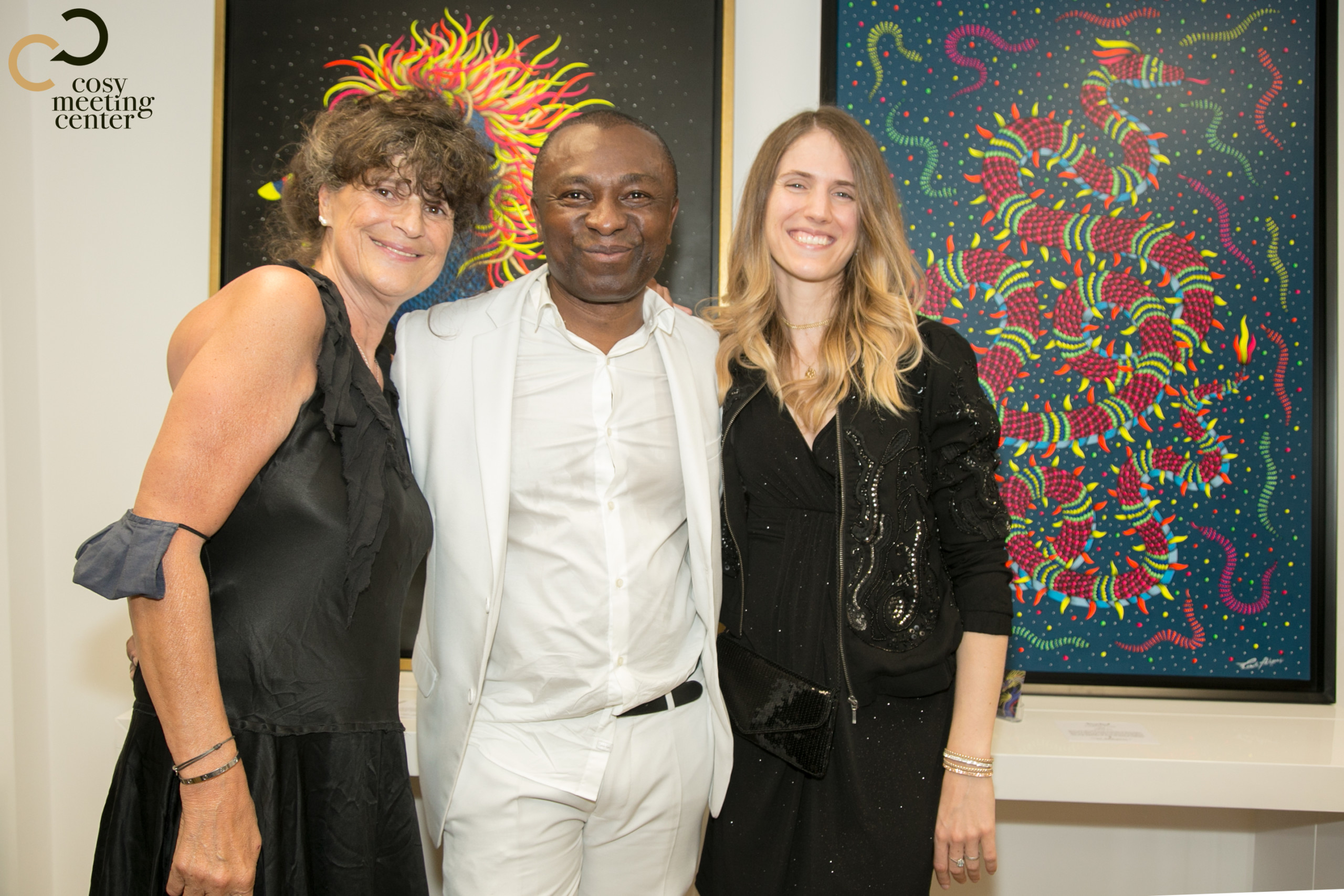 COSY MEETING CENTER Connection with all the arts - Sir Kenneth Johnson - Marie Rocha Reis Artist - Official Media Partner DN-AFRICA - DN-A with Daniel NGUYEN - Video Broascat Production PATSHOW ACTIVITES with Patrick - Lachaud - Francis Camera Team from Aimé MONTMARTRE